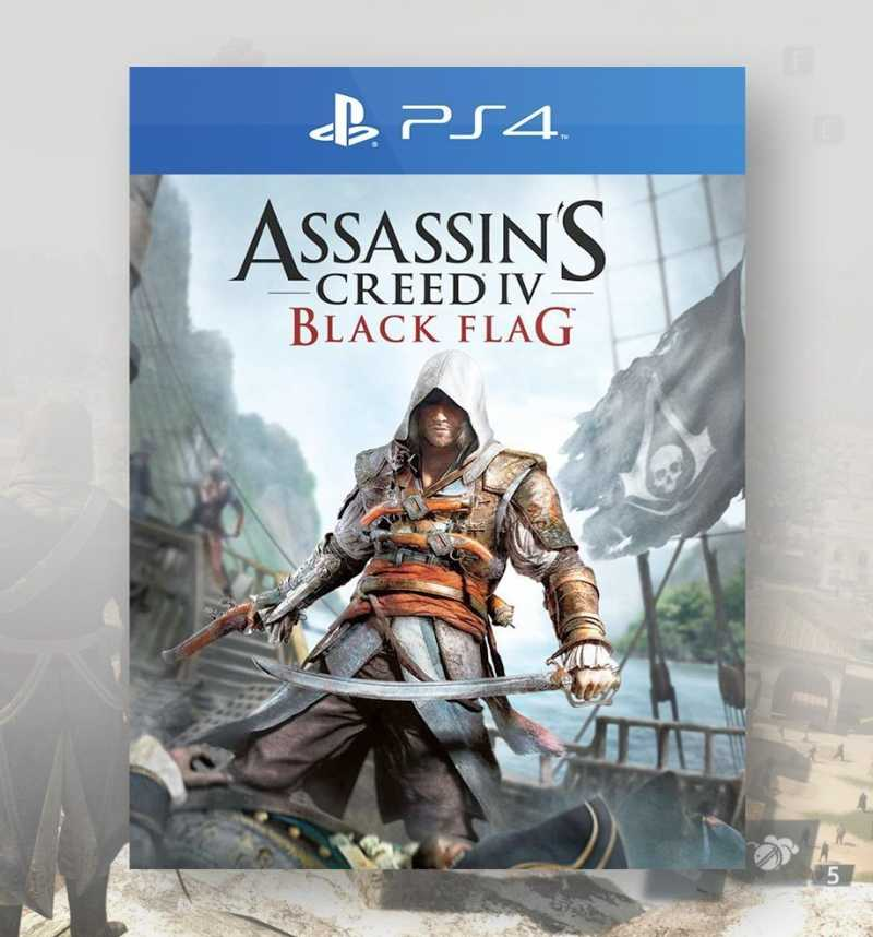 Assassin S Creed Iv Black Flag Ps4 Consogame Com