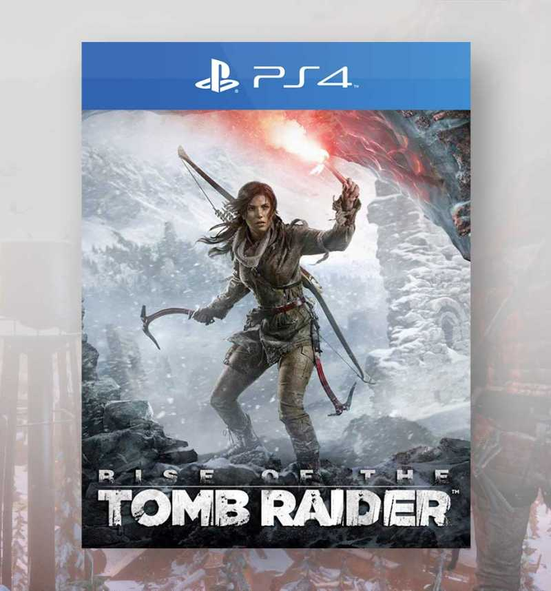 Rise Of The Tomb Raider 20 Year Celebration Ps4 Consogame Com