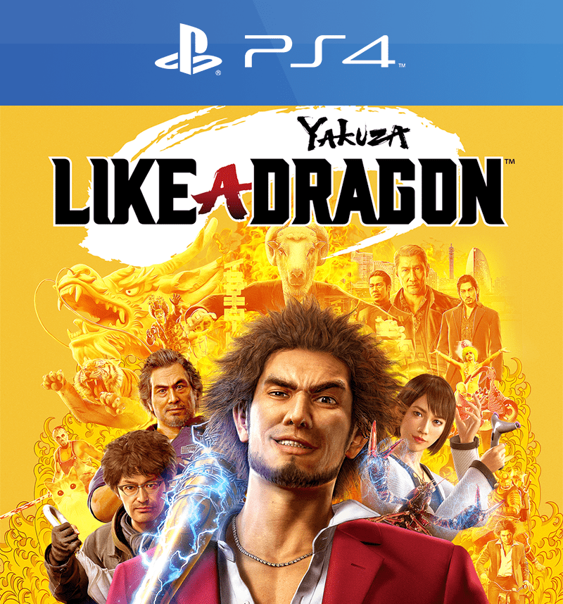 yakuza like a dragon ps4 cover